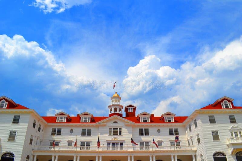 Hotel de Stanley fotos de archivo libres de regalías