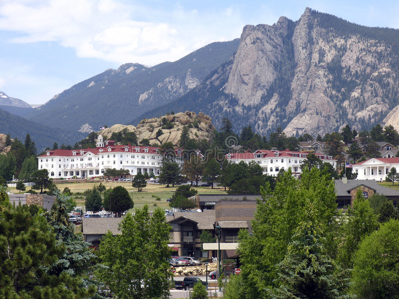 Hotel de Stanley imagem de stock
