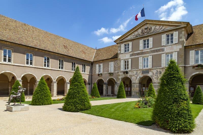 Hotel de Ville -博恩-伯根地-法国 免版税图库摄影
