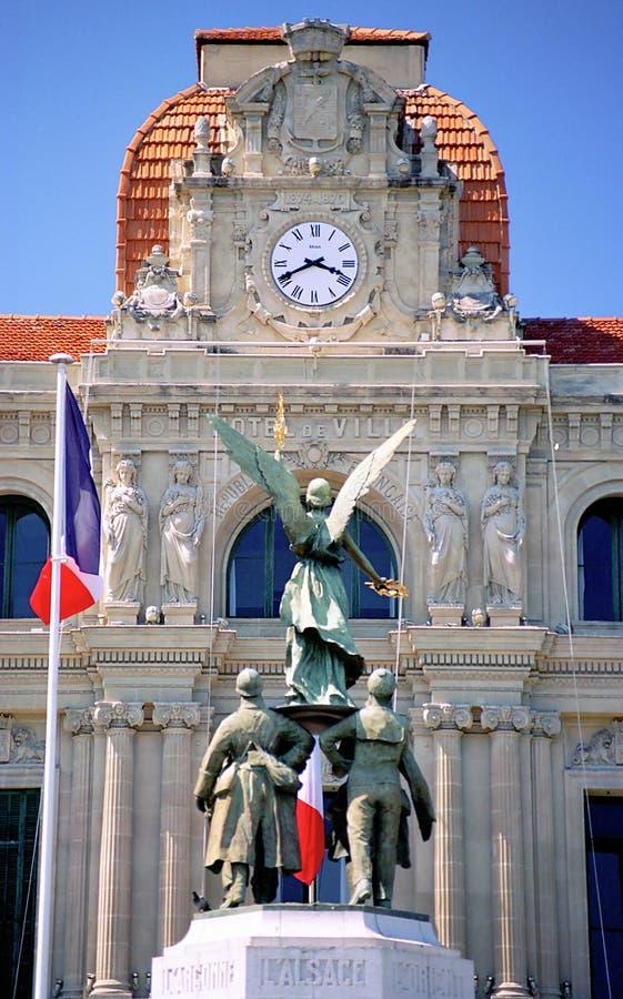Hotel de Ville imagen de archivo libre de regalías