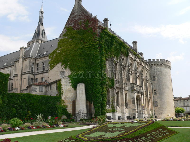 Hotel de ville, Angouleme ( France ) royalty free stock photo