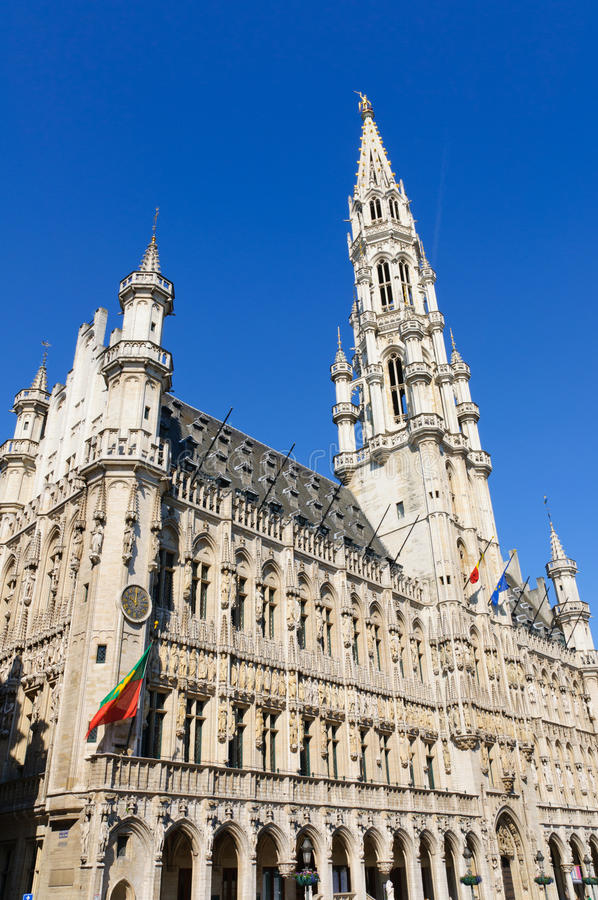 Download Hotel De Ville (City Hall) Of Brussels, Belgium Stock Photography - Image: 25438422