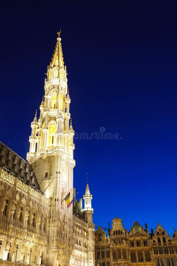 Hotel De Ville (City Hall) Of Brussels, Belgium Stock Images