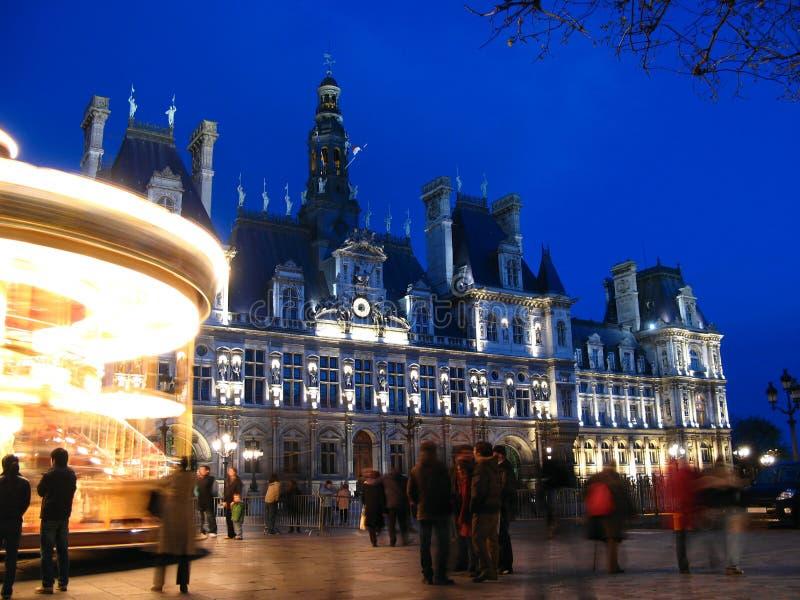 Hotel de Ville, París, 02, Francia fotos de archivo