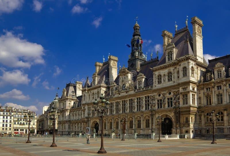 Hotel de Ville, Paris, France stock image