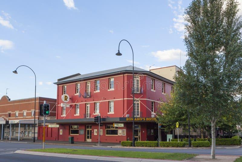 Hotel de Wagga Wagga, NSW, Austrália imagem de stock