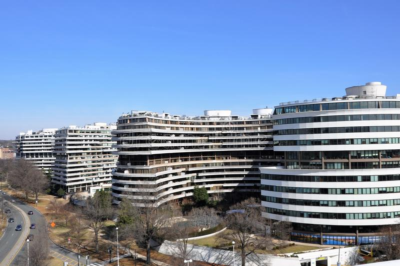 Hotel de Watergate foto de stock