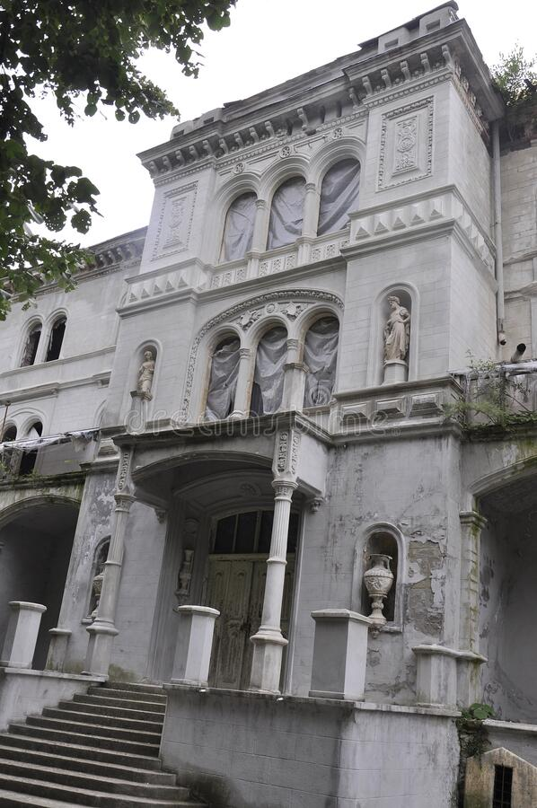Free Hotel Decebal Building From Baile Herculane Resort In Romania Royalty Free Stock Photography - 207690757