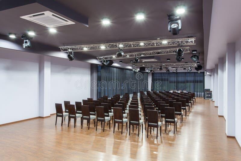 Hotel del arbolado - sala de conferencias fotografía de archivo