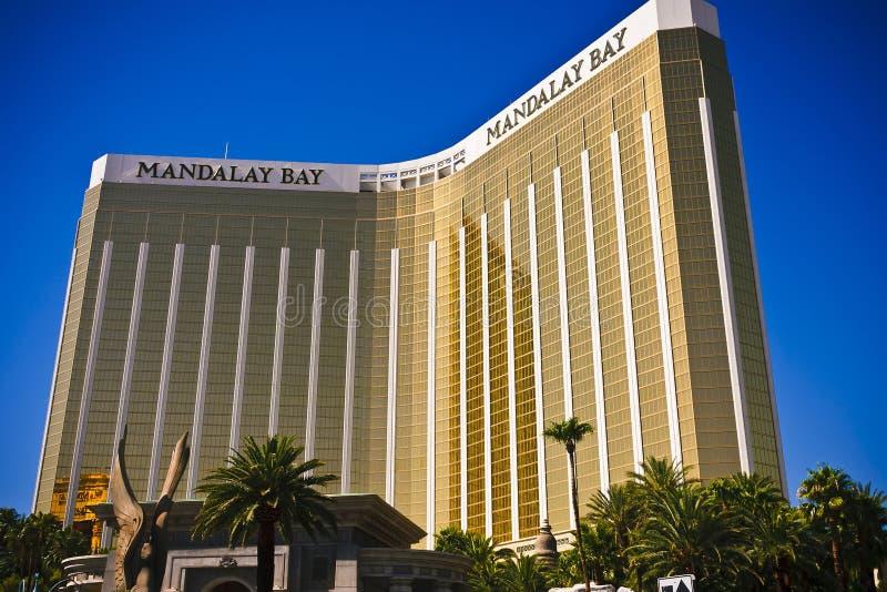 Hotel del casinò della baia di Mandalay a Las Vegas fotografie stock