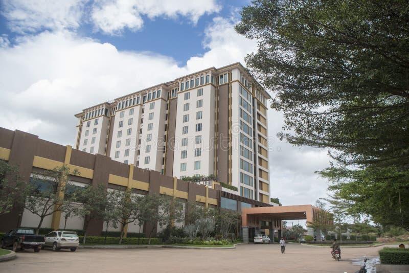 HOTEL DEL CASINÒ DELLA CAMBOGIA ANLONG VENG CHOAM immagine stock libera da diritti