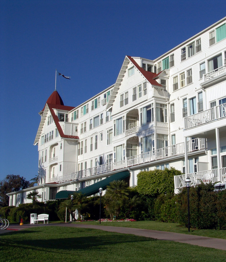 Hotel Del Coronado royalty free stock image