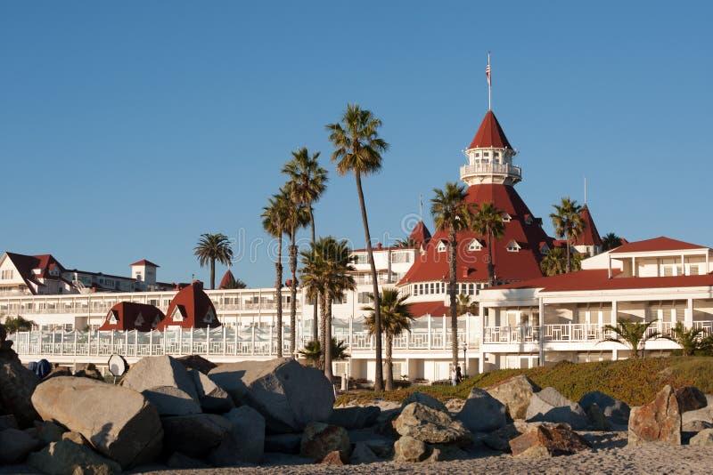 Hotel del Coronado fotos de stock royalty free
