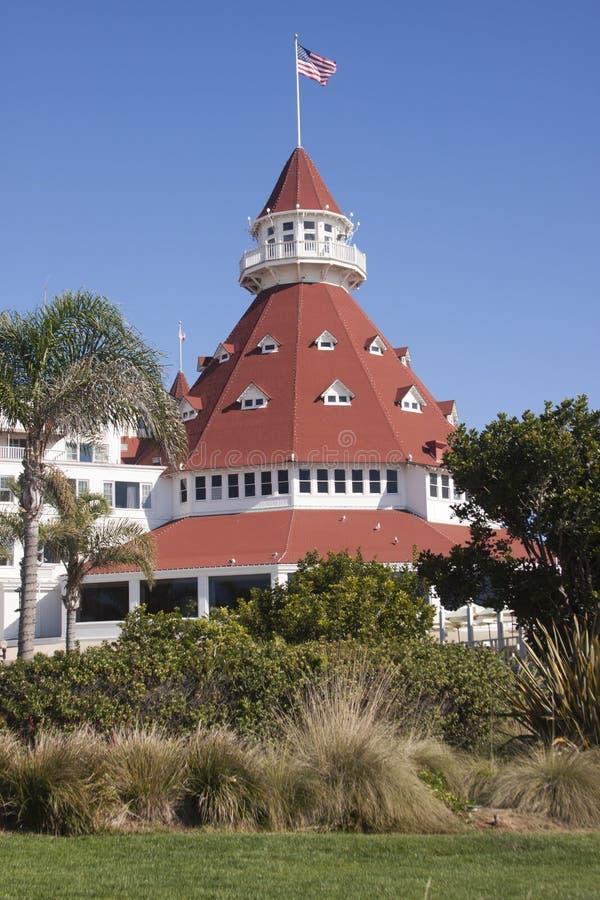 Hotel Del Coronado στοκ φωτογραφία με δικαίωμα ελεύθερης χρήσης