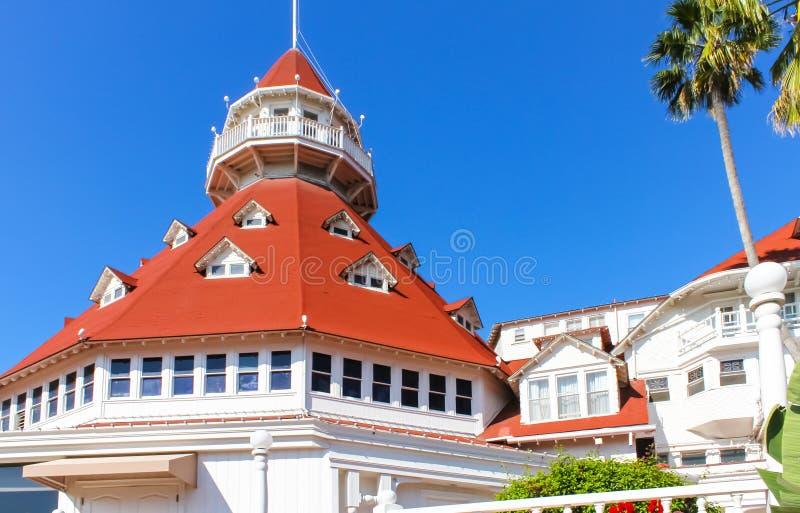 Hotel Del Coronado imagens de stock