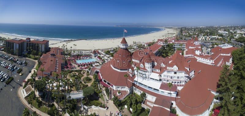 Hotel Del Coronado imagens de stock royalty free