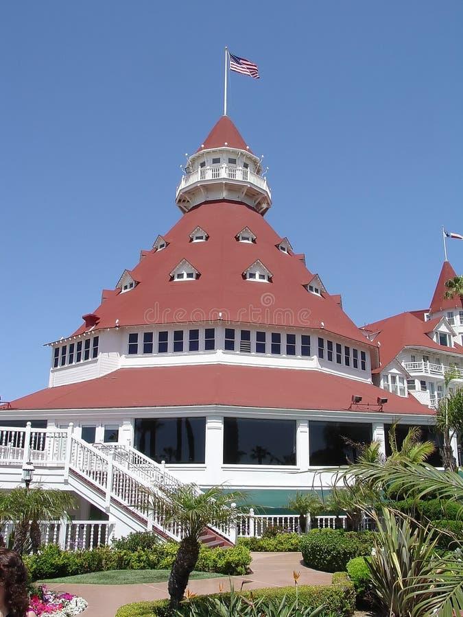 Hotel Del Coronado foto de stock royalty free