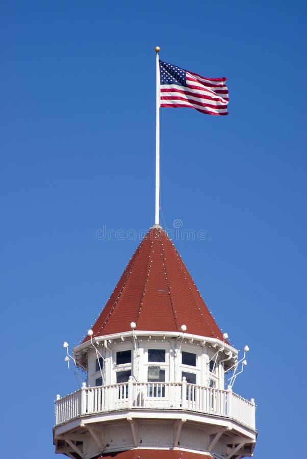 Hotel Del Coronado Peak στοκ εικόνες με δικαίωμα ελεύθερης χρήσης