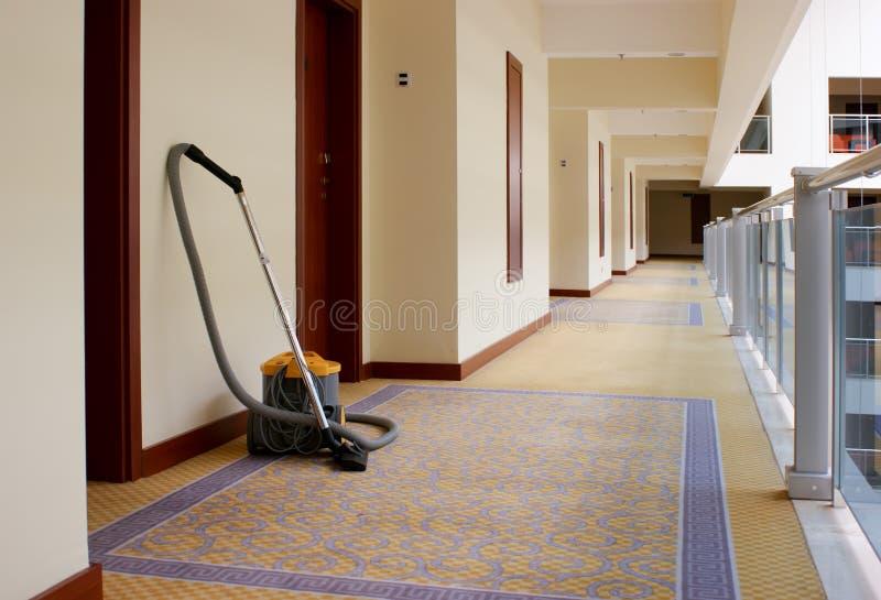 hotel del corridoio fotografie stock