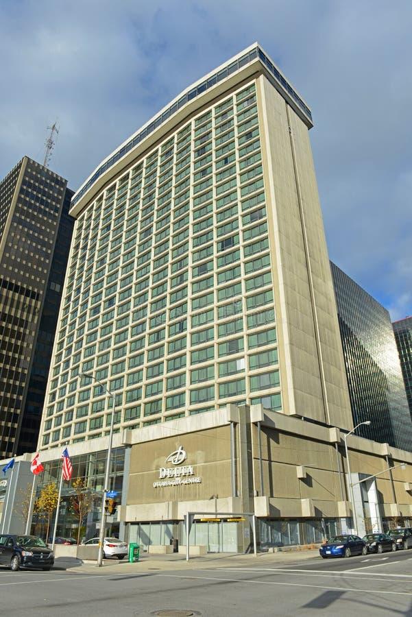 Hotel del delta en Ottawa céntrica, Canadá fotografía de archivo libre de regalías