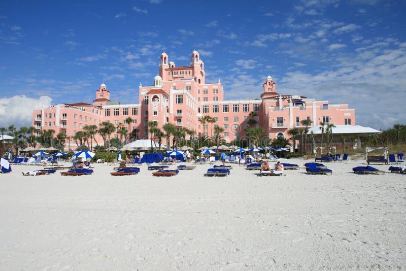 Hotel del Don Cesar fotografie stock
