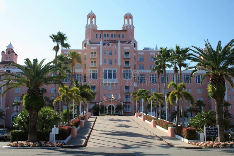 Hotel del Don Cesar immagini stock libere da diritti