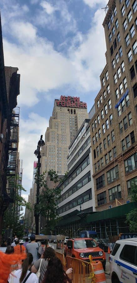 Hotel del neoyorquino imagenes de archivo
