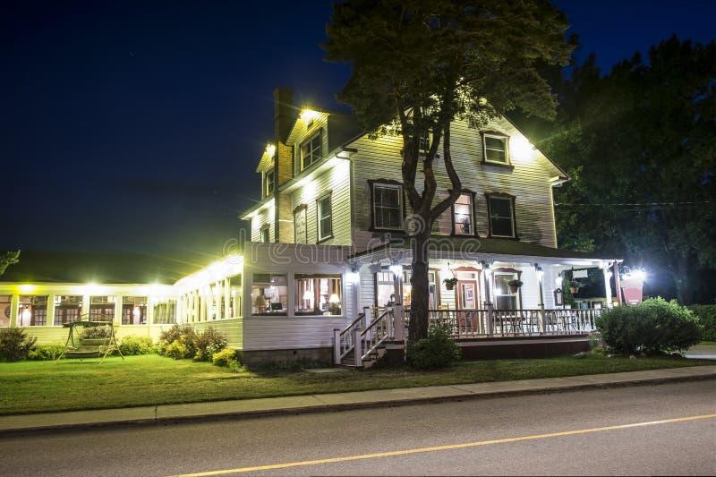 Hotel del país imagen de archivo libre de regalías