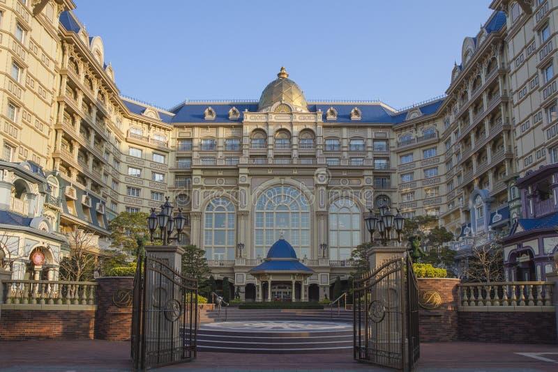 Hotel del palacio de Disneyland foto de archivo libre de regalías