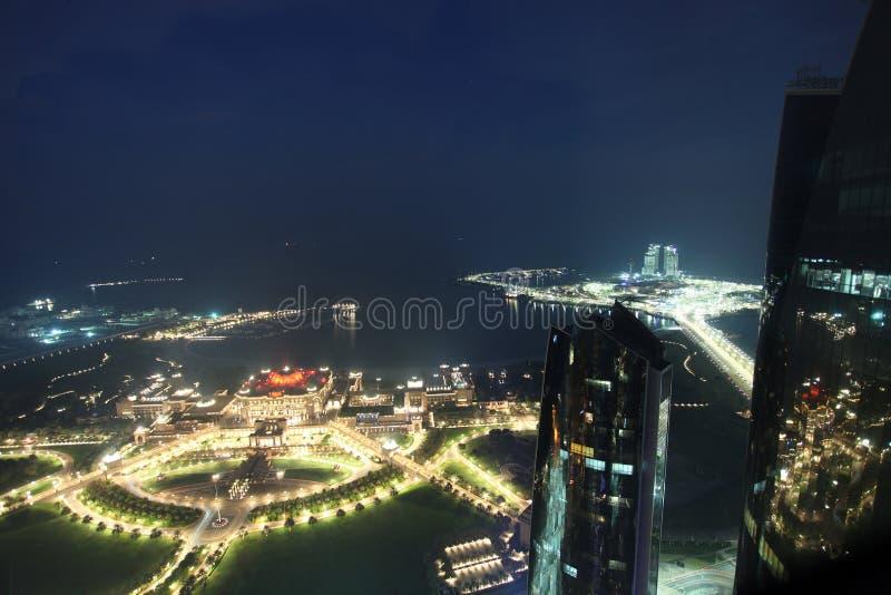 Hotel del palacio de los emiratos en Abu Dhabi fotos de archivo