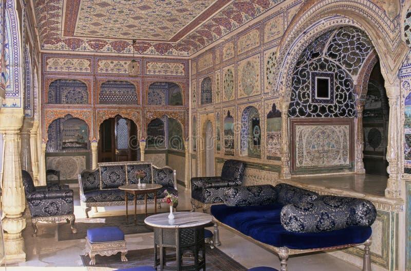 Hotel del palacio de Rajasthán imagen de archivo