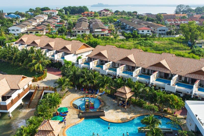 HOTEL del paraíso imagen de archivo