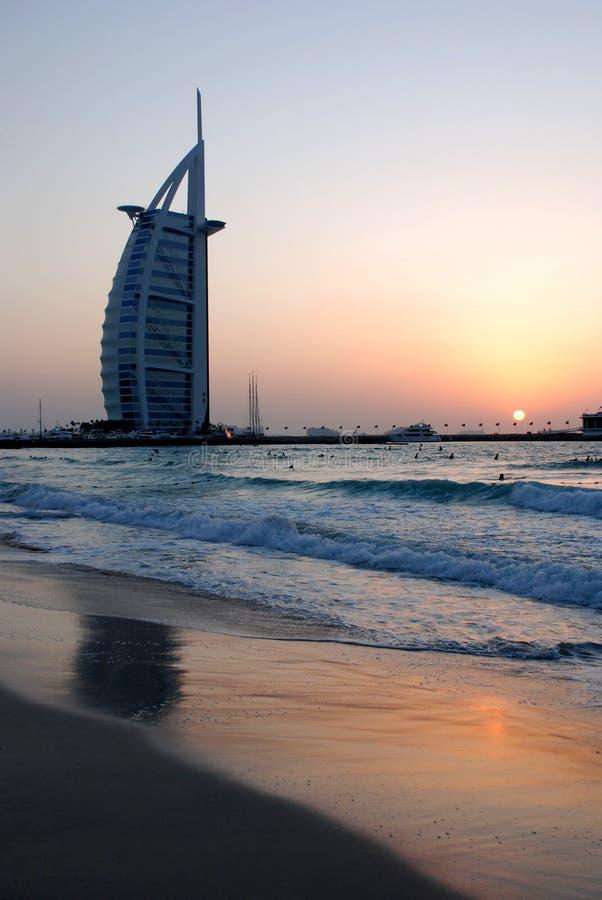 Hotel dell'Arabo di Al di Burj fotografia stock