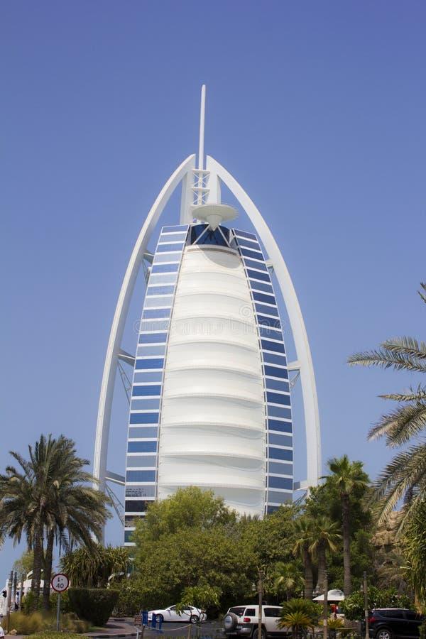Hotel dell'Arabo di Al di Burj immagini stock libere da diritti