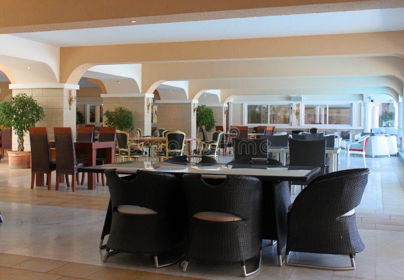 Hotel della mobilia della località di soggiorno immagine stock