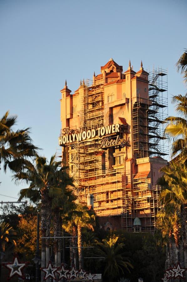 Hotel della torretta di Hollywood in mondo del Disney immagine stock libera da diritti
