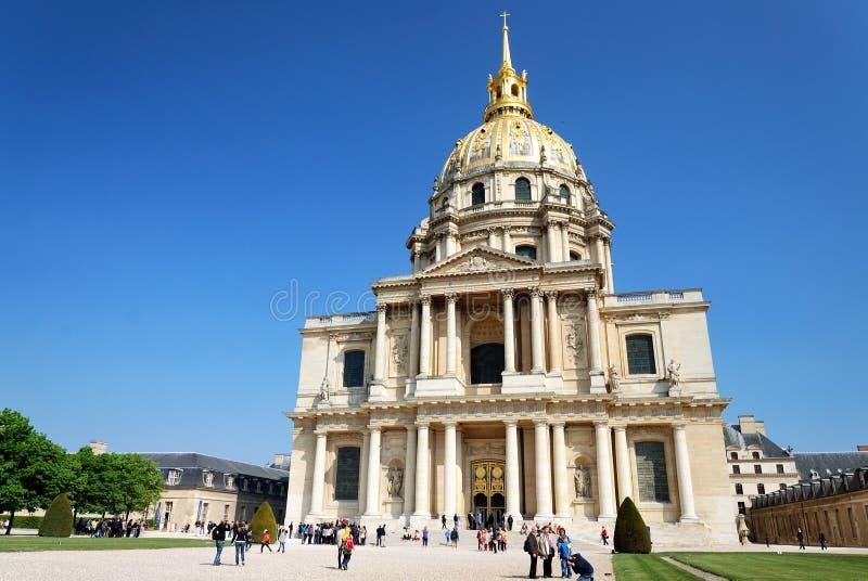 Hotel des Invalides, Paris stock photography
