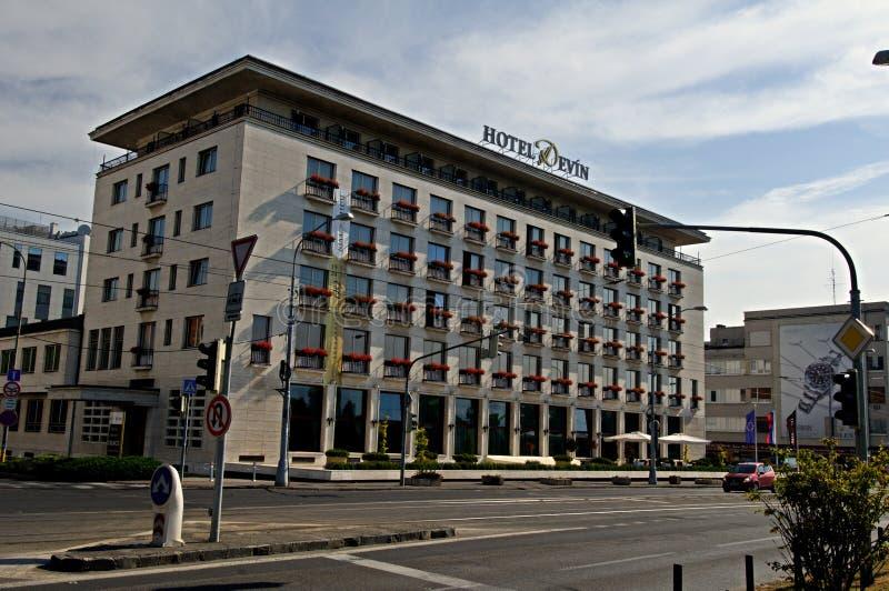 Hotel DevÃn di Bratislava fotografia stock libera da diritti
