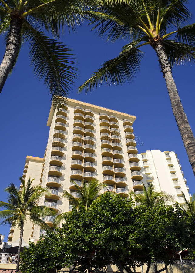 Hotel di Aston in Waikiki fotografie stock