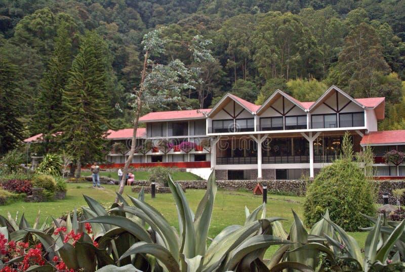Hotel di Bambito - altopiani del Panama fotografia stock libera da diritti