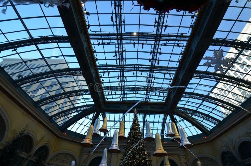 Hotel di Bellagio e casinò, area metropolitana, struttura, costruzione, area urbana immagine stock