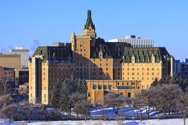 Hotel di Bessborough di delta, Saskatoon fotografia stock libera da diritti