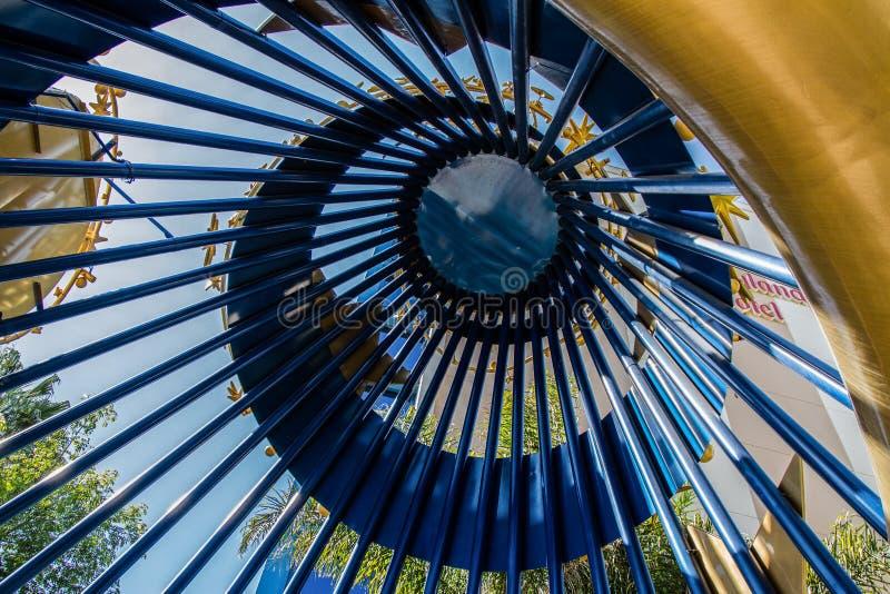 Hotel di Disneyland a Anaheim, California fotografia stock libera da diritti