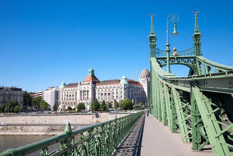 Hotel di Gellert e stazione termale, Budapest fotografia stock libera da diritti