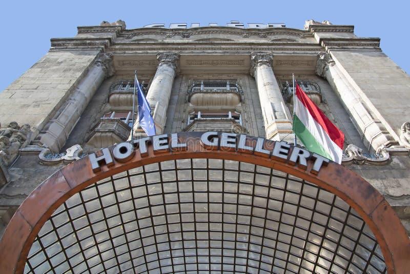 Hotel di Gellert e stazione termale termica immagine stock libera da diritti