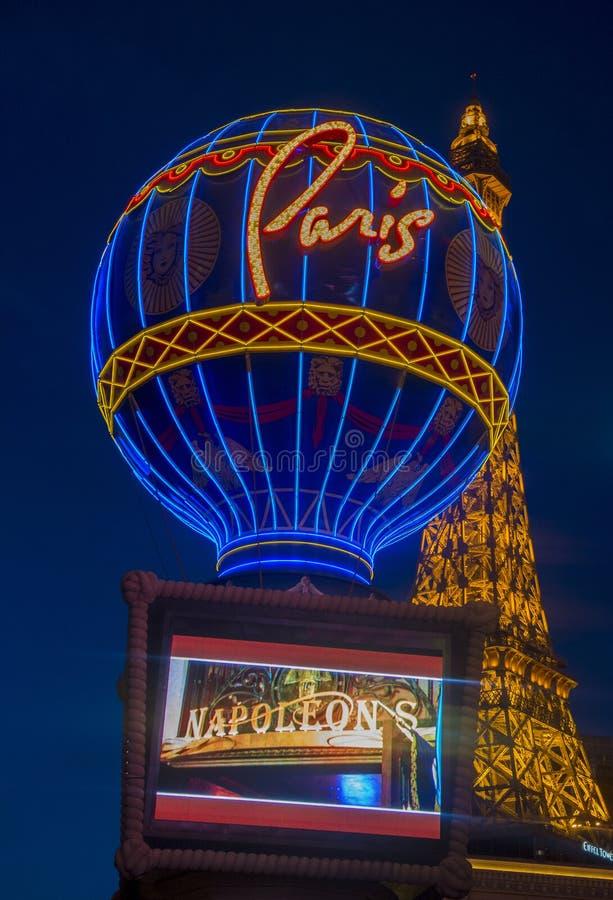 Hotel di Las Vegas, Parigi fotografia stock