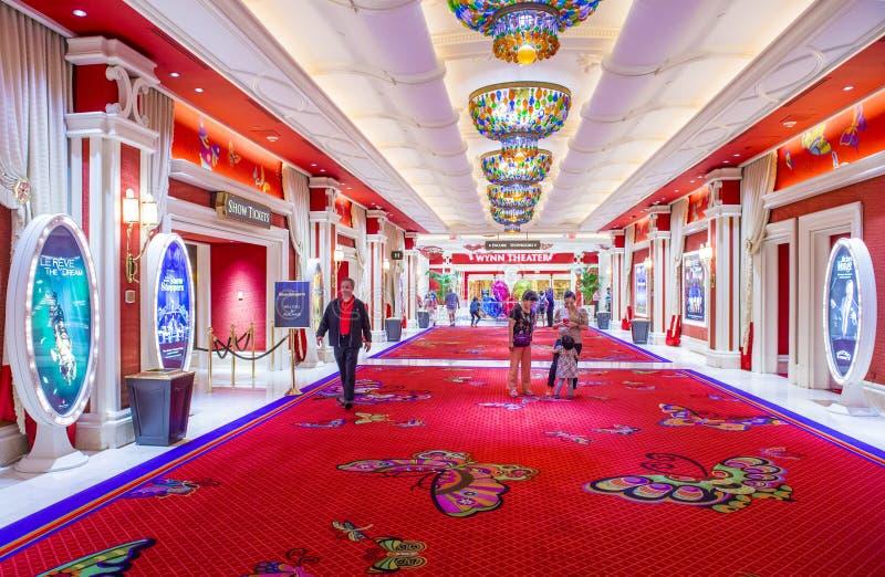 Hotel di Las Vegas Wynn fotografie stock