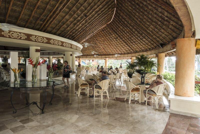 Hotel di località di soggiorno nel Messico fotografie stock libere da diritti