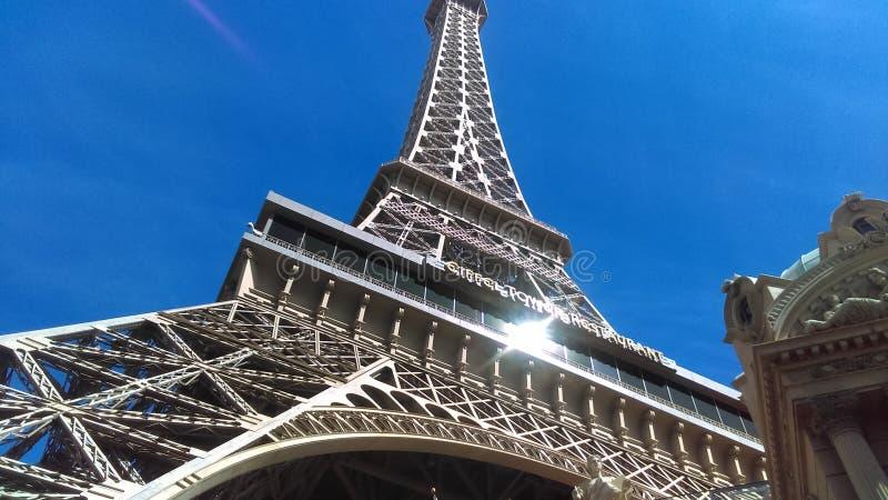 Hotel di Parigi e casinò Las Vegas Nevada fotografia stock libera da diritti