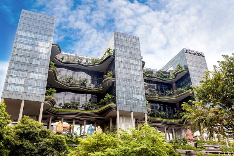 Hotel di PARKROYAL su Pickering a Singapore fotografie stock libere da diritti